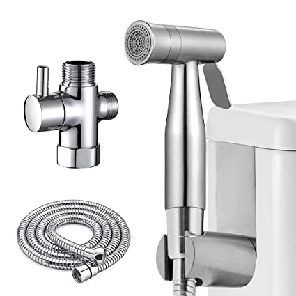Admirable Cloth Diaper Sprayer For Toilet Atalawa Handheld Bidet Sprayer Set With Dual Mode Spray Head Jet Soft For Toilet Attachment Pet Dog Bath Bathroom Pabps2019 Chair Design Images Pabps2019Com