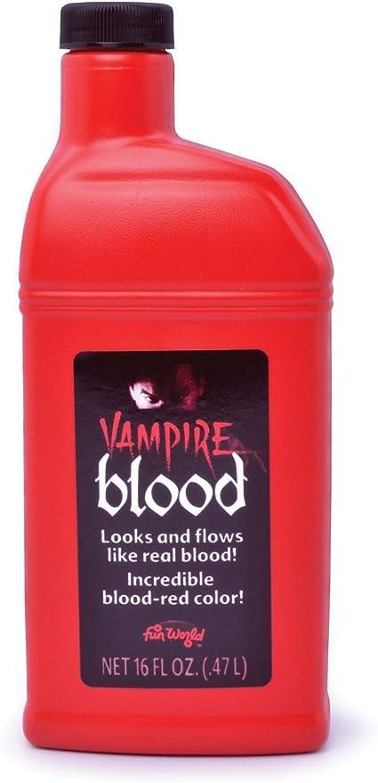 Bottle of Fake Blood 0.5L Halloween Face & Body Kit Dracula Vampire Fancy Dress (Maquillaje/ Pintura de Cara): Bristol Novelty: Amazon.es: Juguetes y juegos