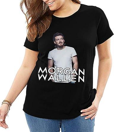 Morgan Wallen Plus Size Women S T Shirt Cute Big And Tall Tops At Amazon Women S Clothing Store