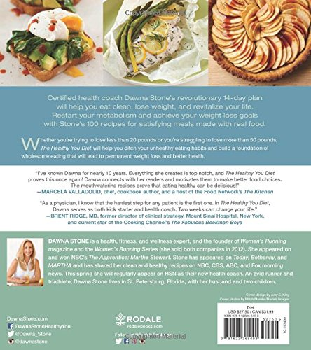 The healthy you diet the 14 day plan for weight loss with 100 the healthy you diet the 14 day plan for weight loss with 100 delicious recipes for clean eating dawna stone 9781623365493 amazon books forumfinder Choice Image