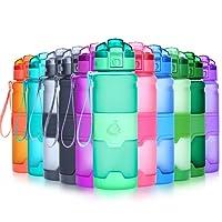 Grsta Botella de Agua deportiva-400ml/500ml/700ml/1l-sin BPA & a Prueba de Fugas