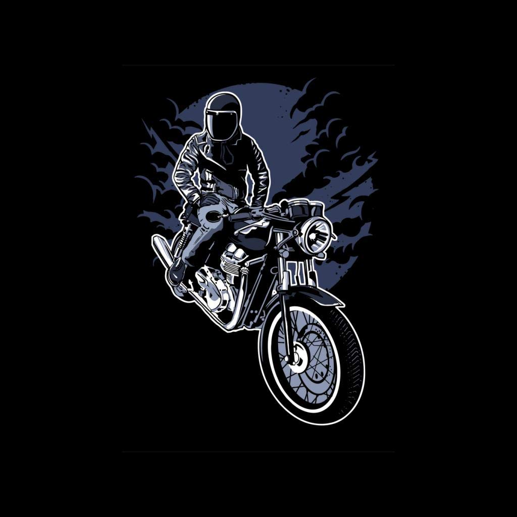 Night Rider Motocycle Rider Womens Vest