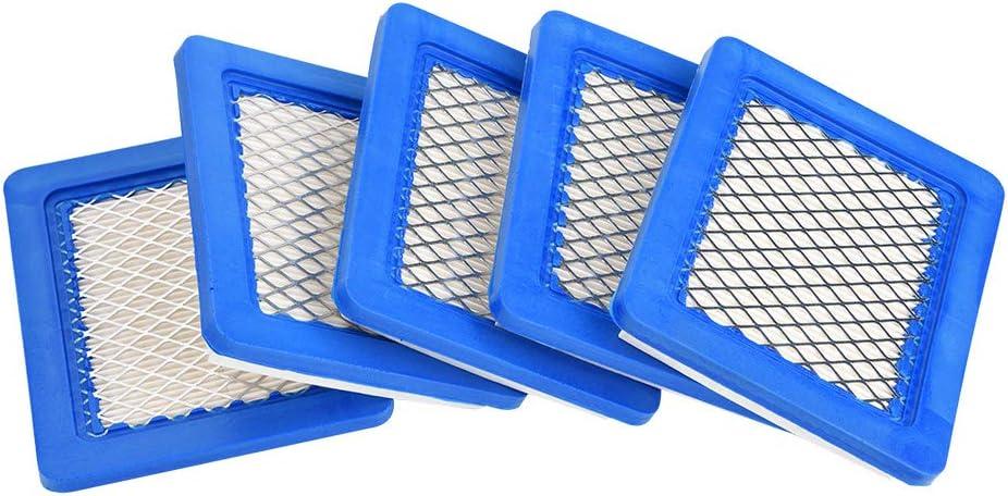 Filtro de aire de 5 ps para Briggs & Stratton 491588 491588S 399959 JOHN DEERE PT15853