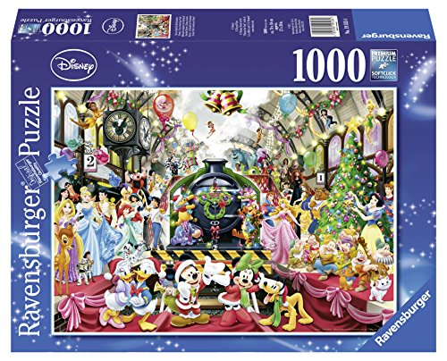 Ravensburger Disney Christmas Jigsaw Puzzle (1000-Piece) (Donald Duck Puzzles 1000 Piece compare prices)