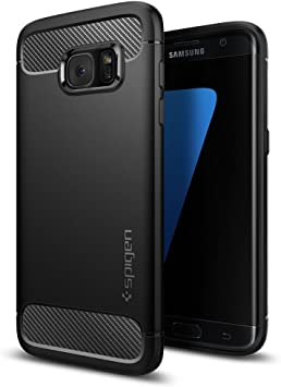 Spigen Funda Galaxy S7 Edge, Carcasa [Rugged Armor] Absorción de ...