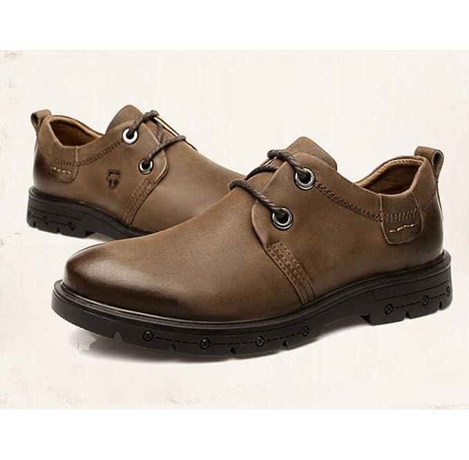 Herrenschuhe England Herren Freizeitschuhe Leder Peeling Halbschuhe Schuhe