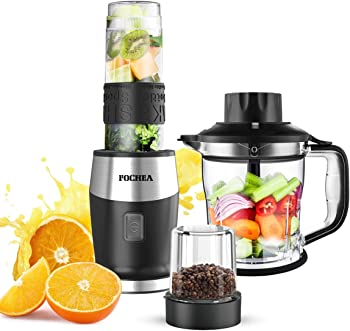 Fochea High-Speed Personal Blender for Smoothies and Shakes