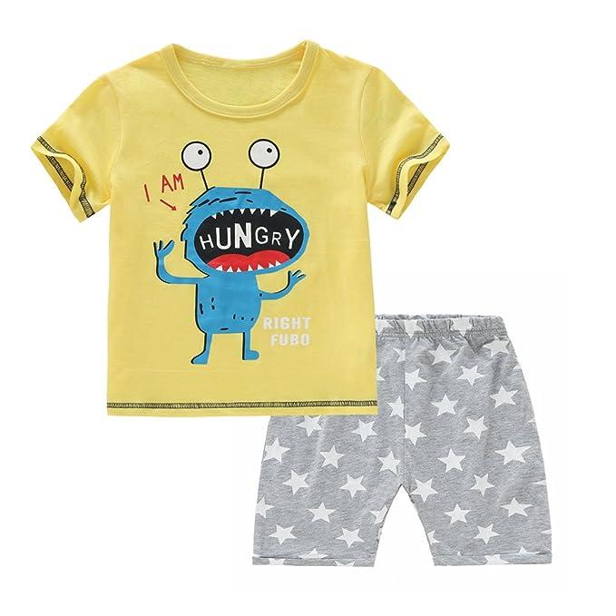 Amazon.com: chicnchic para bebé, ropa de verano playera de ...