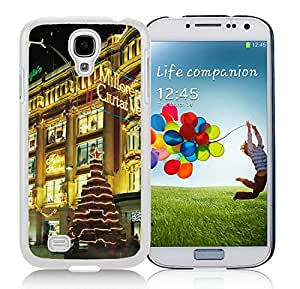 Recommend Design Samsung S4 TPU Protective Skin Cover Christmas Eve White Samsung Galaxy S4 i9500 Case 1