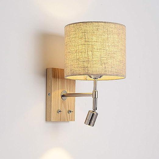 Design Scandinavo Camera Da Letto.Lyghtzy Lampada Da Parete Con Base In Legno Di Design Scandinavo
