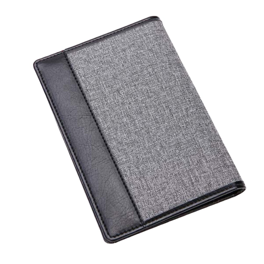 bjduck99 Mens Slim Bifold Leather Wallet Passport Creadit ID Cards Holder Purse