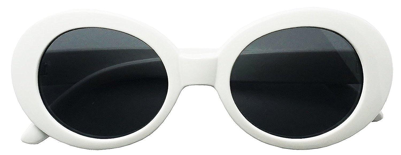 147b27561e5 Clout Goggles New MOD Round Costume Sunglasses (White)  Amazon.ca  Clothing    Accessories