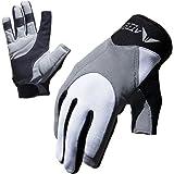 ATTONO Segelhandschuhe Segeln Regatta Wassersport Handschuhe Größen: 6-11
