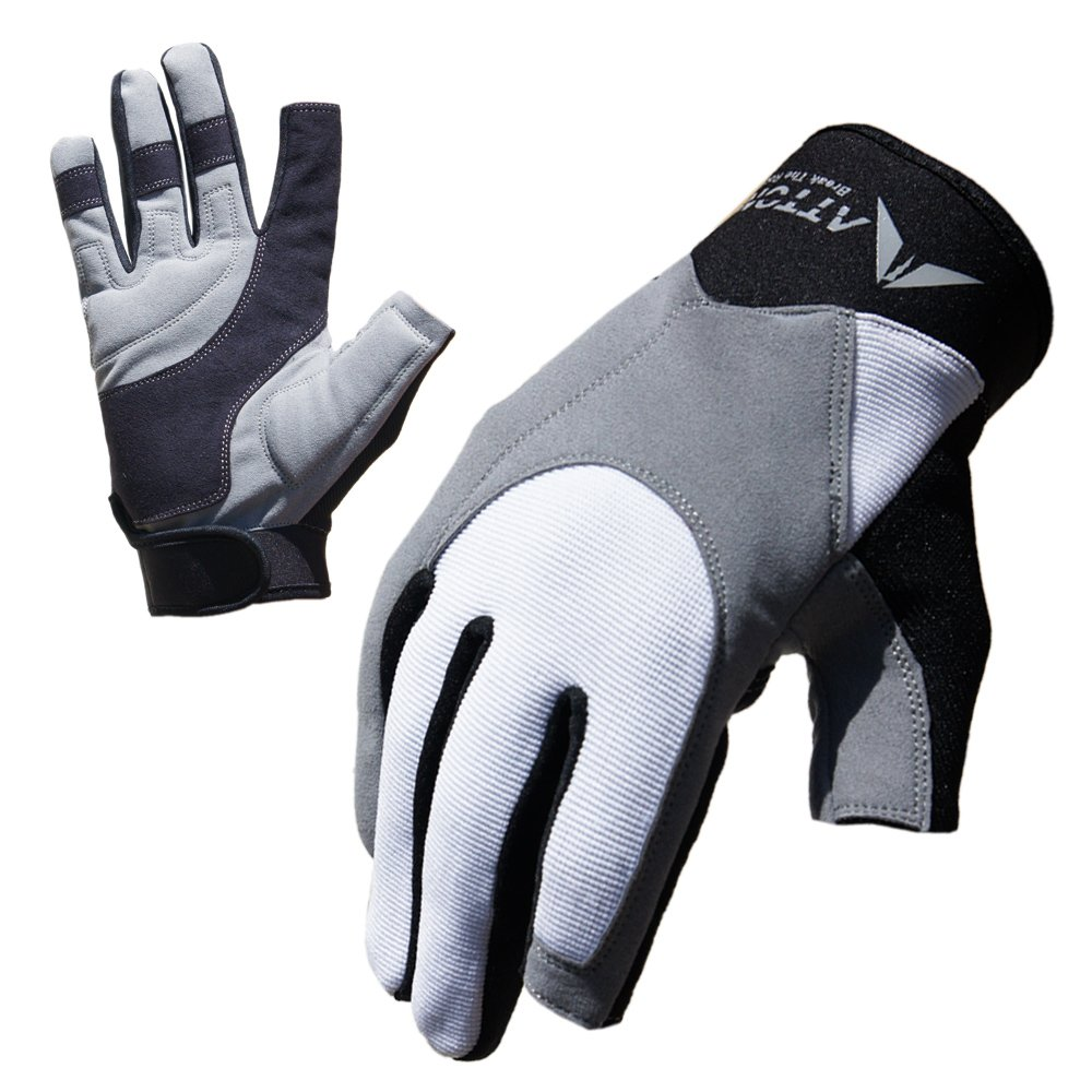 ATTONO segelhandschuhe de sports nautiques protection uV400 regatta gants taille : 6–11 EASD Peter Ruszel