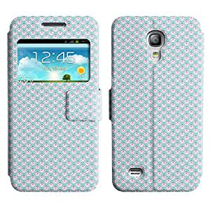 AADes Scratchproof PU Leather Flip Stand Case Samsung Galaxy S4 MINI ( Many Beetles )