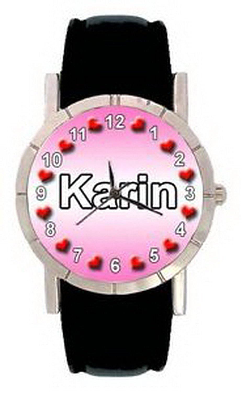 jwl0471名 – Karinメンズレディース本革クオーツMovement腕時計 B01MZ0CXR4