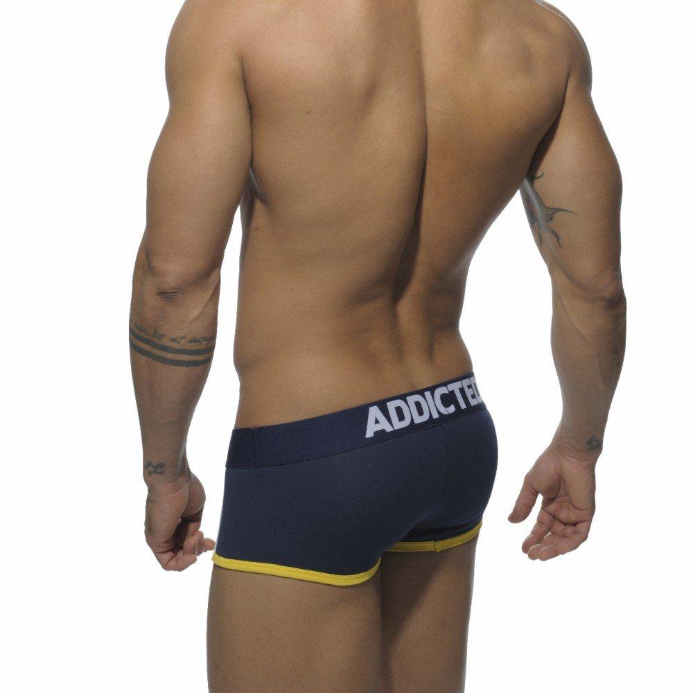 Addicted - Calzoncillo - Básico - para hombre azul marino Medium: Amazon.es: Ropa y accesorios