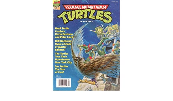 Teenage Mutant Ninja Turtles Magazine (Winter 1991): Adam ...