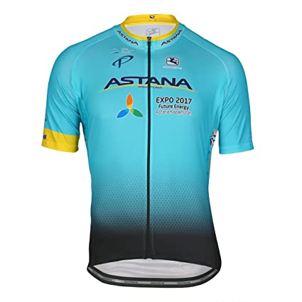 09a9220e6 Amazon.com   Giordana Vero Pro Astana Team Jersey - Men s   Sports ...