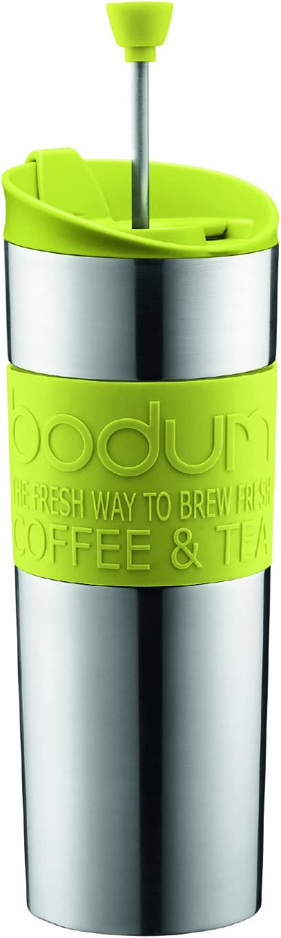 Bodum Stainless Steel Insulated Travel Coffee and Tea Press