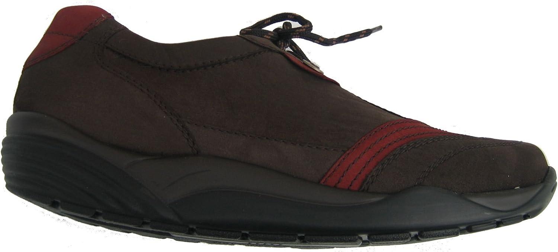 Waldläufer 591002-503-365 Hija Femme Chaussures Largeur H Ardoise Bordeaux