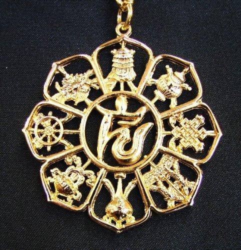 Amazon Com Feng Shui Lo Shu 9 Amulet 8 Auspicious Objects Talisman