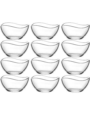 Dippschalen Salatschälchen Eis Schälchen 100 Stück Glas Schalen Salatschalen