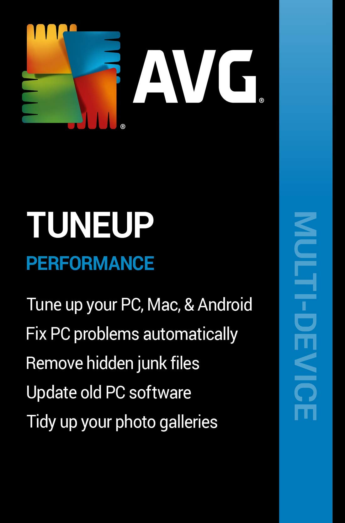 AVG TuneUp 2020 | 5 Devices, 2 Years [PC/Mac Online Code] by AVG