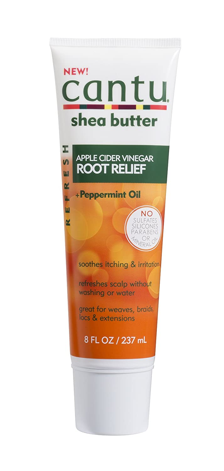 Cantu Refresh Root Relief with Apple Cider Vinegar and Peppermint Oil, 8 Ounce Dr. Teals 07688-12/3PK
