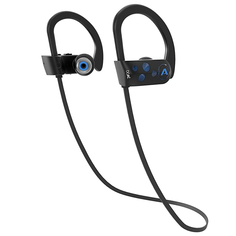 boAt Rockerz 261 in Ear Wireless Earphones with mic(Jazzy Blue)