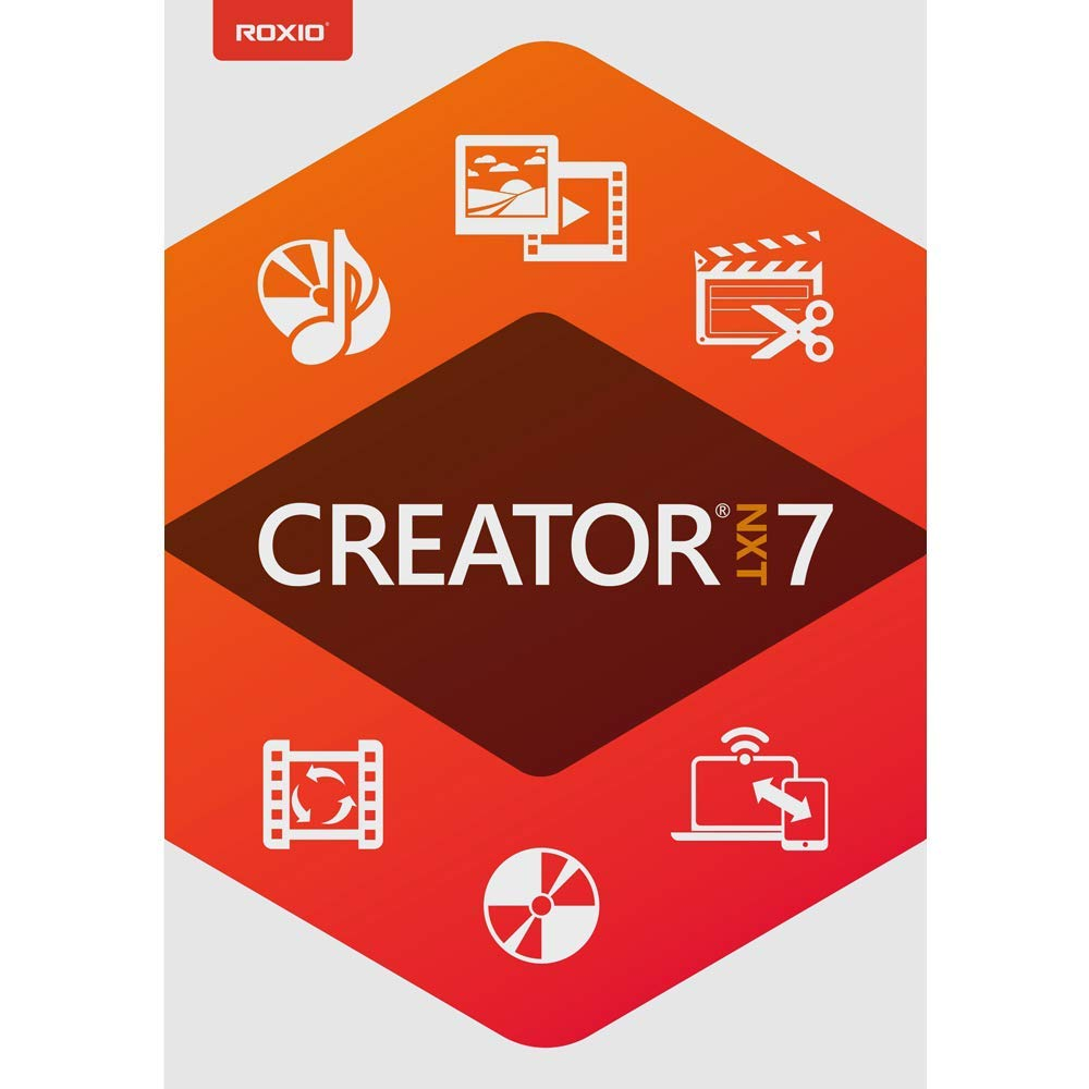Roxio Creator NXT 7 - CD/DVD Burning & Creativity Suite [PC Download] by Roxio