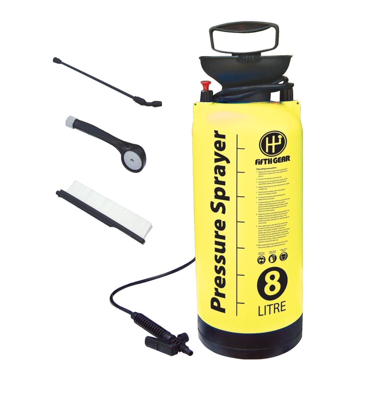 GARDEN PRESSURE SPRAYER KNAPSACK WEEDKILLER CHEMICAL FENCE WATER SPRAY BOTTLE (1.5L SPRAYER) MARKSMAN