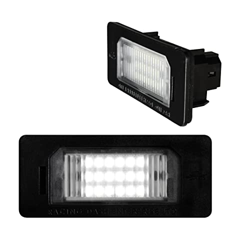 Autostyle LPLB04 Luces LED para Matrícula