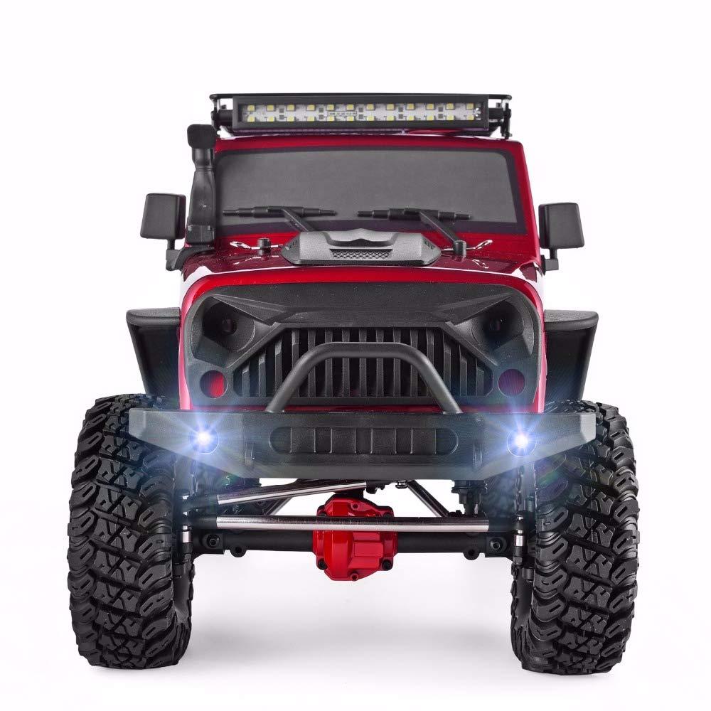 estar en gran demanda @LI Monster Truck Vehículo Recargable 1 1 1 10 Ratio Simulación restauración 4WD Coche de Alta Velocidad 2.4 GHz suspensión Carreras Todoterreno Coche Profesional de Escalada para Adultos(Actualizar)  ventas en linea