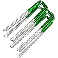 Primeturf Artificial Grass Turf U Pins Galvanized Steel Pegs Staple - 100pcs