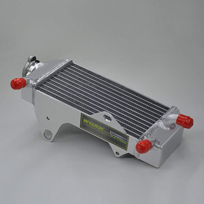 with stopper side Aluminum radiator FOR Honda CRF250R CRF 250R CRF250 2010-2013 2011 2012 2013