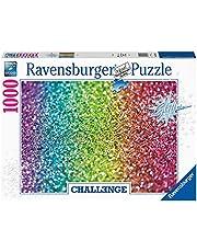 Ravensburger puzzel Glitter - Legpuzzel - 1000 stukjes Challenge