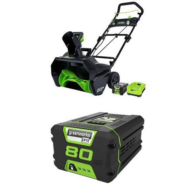 Best GreenWorks 80V Snow Blower