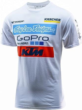 Troy Lee Designs - Camiseta oficial del equipo KTM de manga corta ...