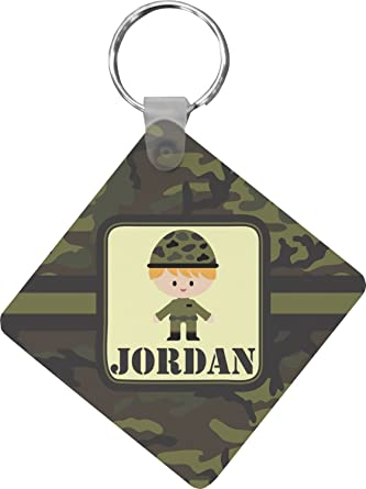 Green Camo Diamond Key Chain (Personalized) at Amazon Women s ... f1b8c66a6