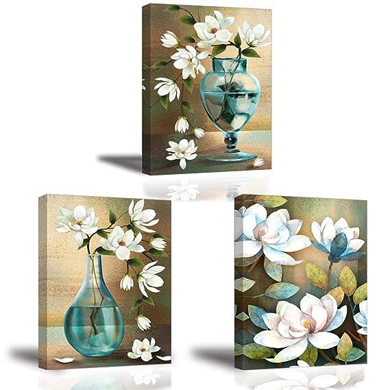 6efcdd093d Stampe e quadri su tela La fortuna arriva con Fiori che sbocciano Piy  painting Immagine Pittura Tela Wall Art Canvas Impermeabile per Amante  famiglia ...