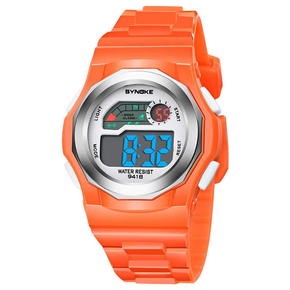 Kids Watch for Boys Girls, Sports Kids Boys Girls Digital Electronic Movement Glow in The Dark Wrist Watch