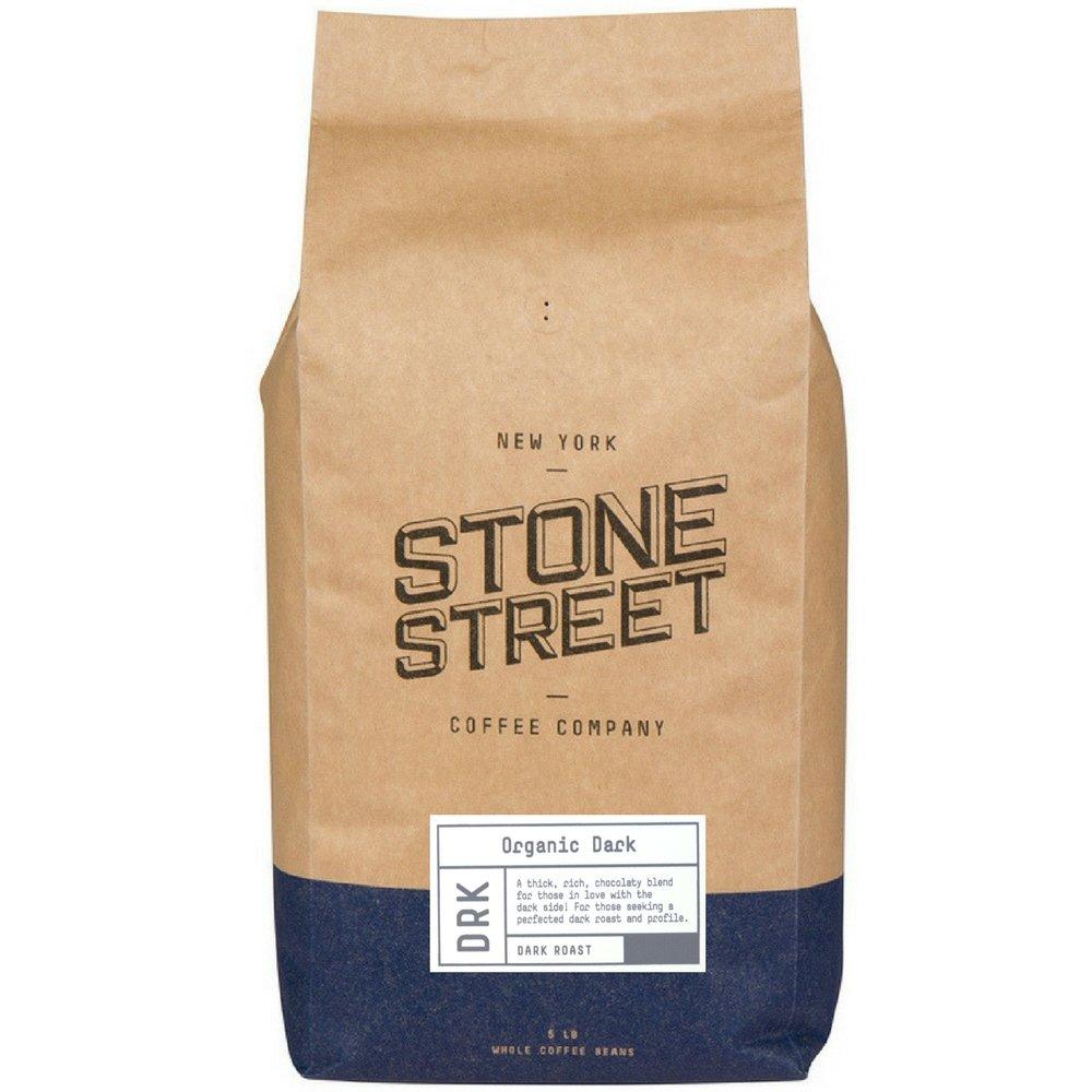 DARK ROAST ORGANIC Whole Bean Coffee   5 LB Bulk Bag   Fair Trade & Rain Forest RFA Certified   Full-Body, Bold, Rich Taste   Specialty Handcrafted 100% Arabica Origin