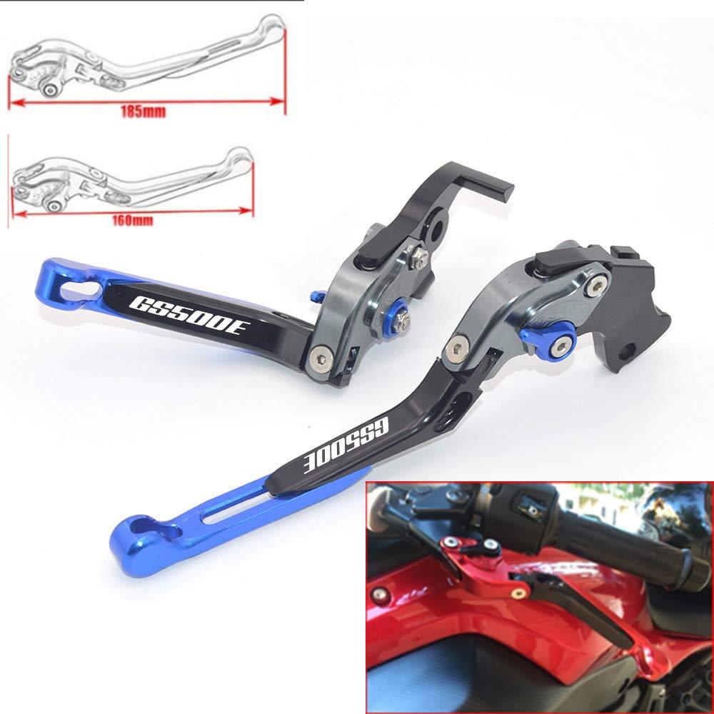 CNC - Palancas de embrague de freno extensibles y plegables para Suzuki GS500 E 1995-1999: Amazon.es: Coche y moto