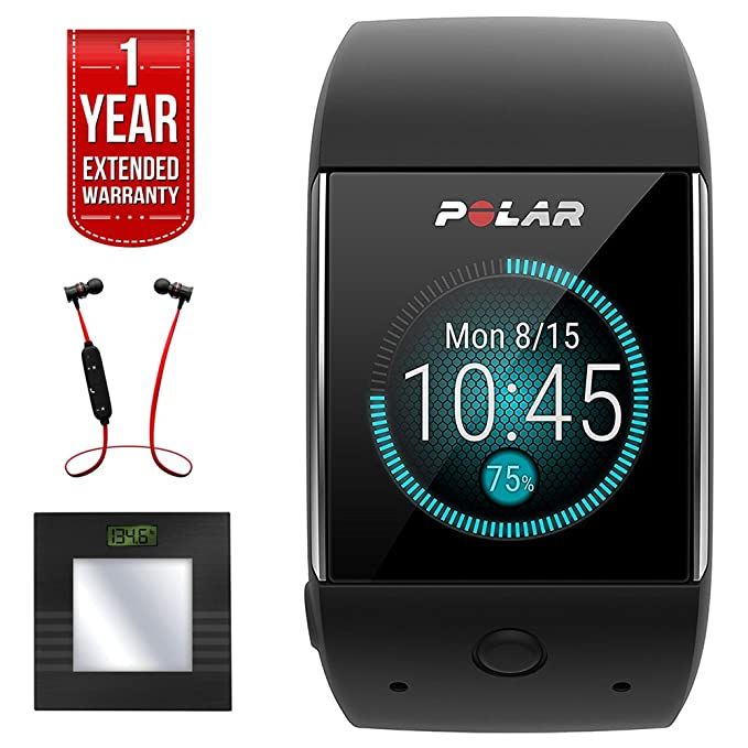 Polar M600 deporte gps reloj inteligente negro (90063087) + Bally Total Fitness Bluetooth Digital