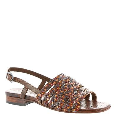 b773ba82411 Sesto Meucci Womens Geppy Open Toe Casual Slingback Sandals, Brown, Size 7.5