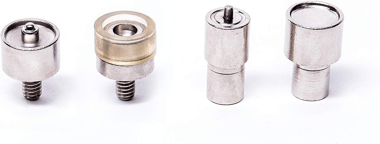 Matriz para botones de presión resorte en S 15 mm para máquina manual