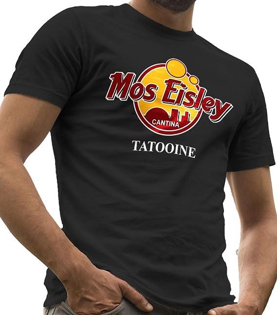 Camiseta Star Wars, con texto «Mos Eisley Cantina Tatooine», camisetas LeRage para hombre: Amazon.es: Ropa y accesorios