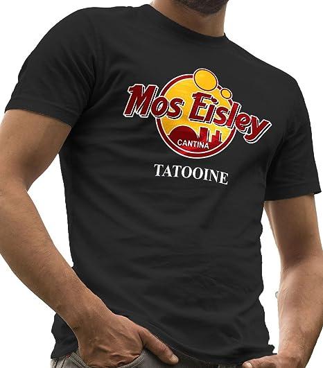 LeRage Mos Eisley Cantina Camiseta Star Wars Hombre Negro 2XL