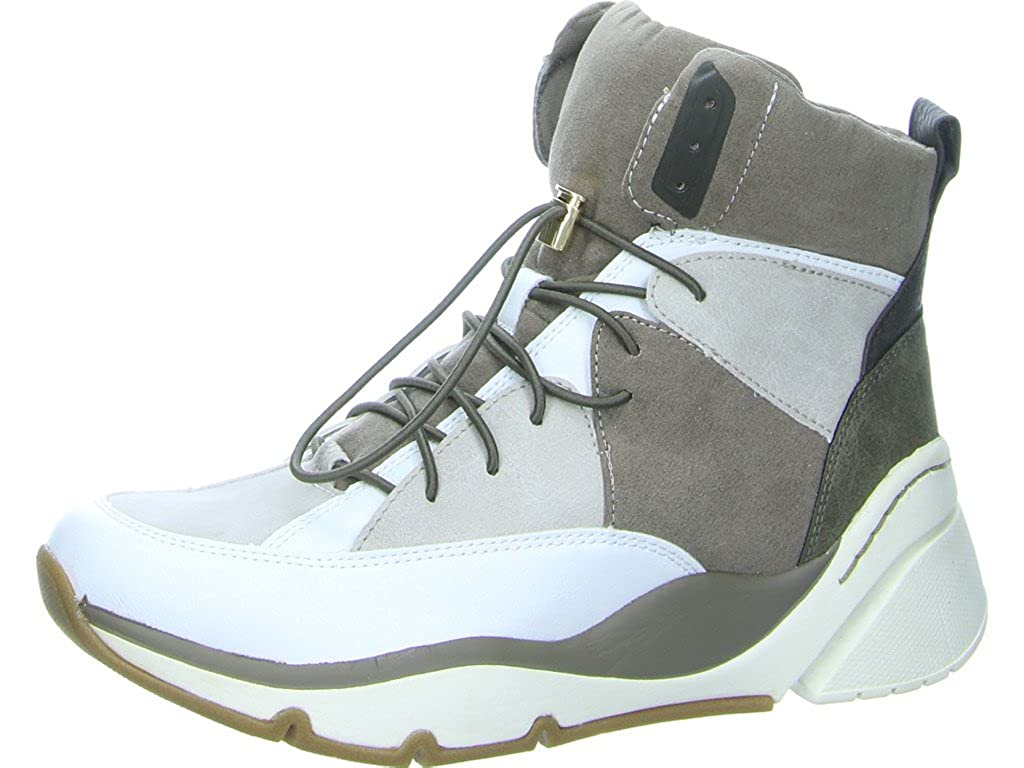 Tamaris Lancia Damen Schnür-Stiefel Größe 38 Weiß (Weiß)